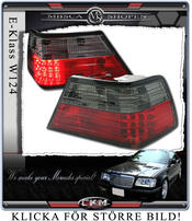 Clearglas Taillights with LEDs Red/smoke V2 2pcs