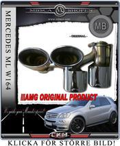 AMG Slutrör 2 st komplett AMG Original