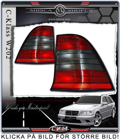 Taillight red/smoke wagoon 2pcs