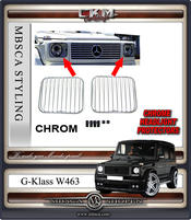 4. CKM chrome headligt cover 2pcs