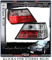 Clearglas Taillights with LEDs Clear V2 2pcs