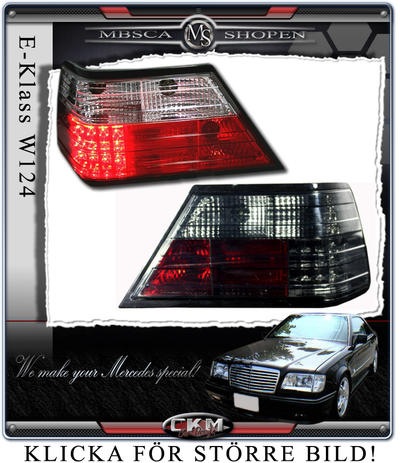 Clearglas Taillights with LEDs smoke V2 2pcs