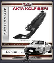 Kolfiber diffusor för bilar med sportpaket 1st
