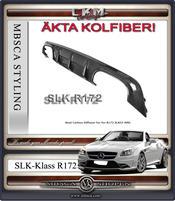Kolfiber diffusor för AMG SLK55 1st