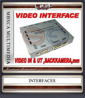 C. VIDEO INTERFACE W221 2010-2013