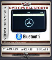 C. DVD Comand med GPS & Bluetooth
