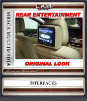 C. Monitors 2st nackstöd Original utförande Luxus Line