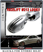 """Mirrorcovers with turn signals """"W212 LOOK"""". 06-09"""