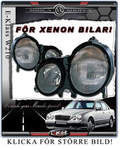 Frontlights 1pcs Original look Xenon