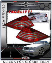 Clearglas Facelift taillights MB Orginal 2st