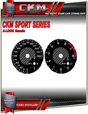 Cluster dials sport km/h 260km/h Petrol