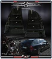 Clearglas Taillights Wagon LED 2pcs Smoke