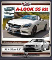 "1. CKM ""A-look"" Spoiler kit 9 delar 02-09"