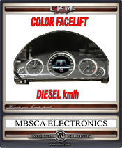 Facelift COLOR speedometer DIESEL km/h