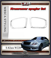 Chromeframes for mirrors 2pcs