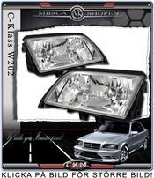 Clear frontlights 2pcs