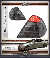 Clearglas taillights Facelift with smoke LED 2 pcs