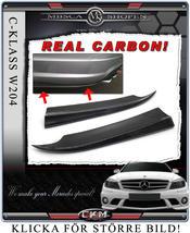 1. Carbon spoilers back 2 pcs set