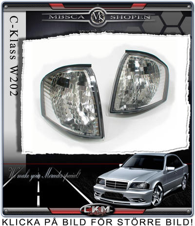 Clear blinkers 2 pcs