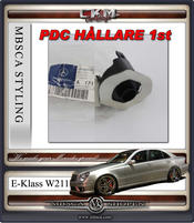 """1. CKM """"E63 AMG look"""" front PDC BRACKET 1st"""