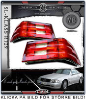 Facelift Taillights for 89-99 2pcs set MB Original