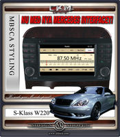 "C3. Comand enhet i ""MB LOOK"" DVD GPS Bluetooth Touch Screen mm.."