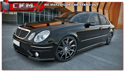 1. CKM side extensions for E55/ E63 AMG