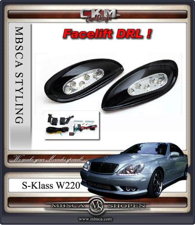 Clearglas LED Fogs 2 pcs set for bumper.