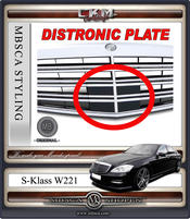 Avantgrill Exlusive Sport Facelift distronic PLATE