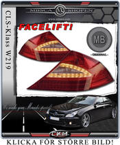 Facelift Led taillights 2 pcs MB Original