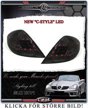 "Clear taillights LED 2 pcs ""C-style"" Smoke set"
