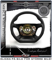 "wheel  black Leather ""DTM"""