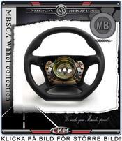 "wheel  black Leather ""DTM"""