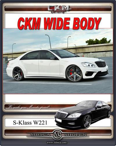1. CKM WIDE BODY kit