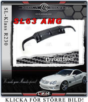 "6. CKM ""AMG look"" duffuser in Carbon Fiber for SL63 back"
