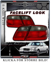 Taillights Facelift Red/Smoke 2 pcs