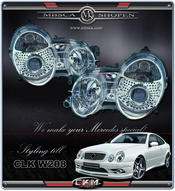 Clear frontlights projector 2pcs XENON D2S