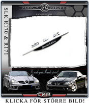 SLK Special Edition Emblem 1pcs