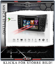 "C2. Comand enhet i ""MB LOOK"" DVD GPS Bluetooth MOST mm.."