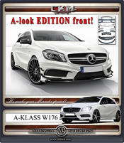 """1. CKM """"A-look"""" EDITION front kit 17 delar 12-"""