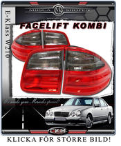 Taillights Facelift Red/Smoke Wagon 2 pcs