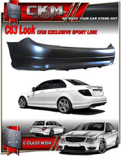 "1. CKM ""AMG look"" Back bumper No PDC"