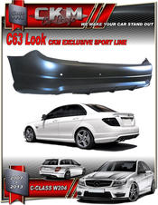 "1. CKM ""AMG look"" Back bumper With PDC"