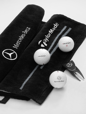 Mercedes Benz ORIGINAL golfset svart