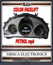 Facelift COLOR speedometer PETROL mph USA