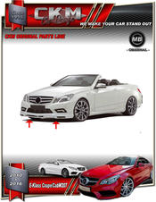 1. CKM front spoiler for AMG front