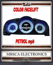 Facelift COLOR speedometer PETROL mph