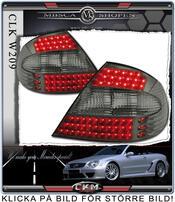 Clear taillights LED 2 pcs set Smoke