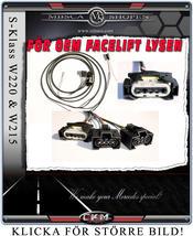 Klarglas facelift framlysen kabel kit för uppgradering!