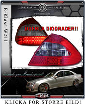 Clearglas taillights Facelift with doubble LED rows 2 pcs
